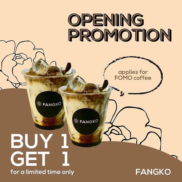 FANGKO COFFEE Singapore Buy 1 Get 1 FREE Opening Promotion Limited Time Only | Why Not Deals