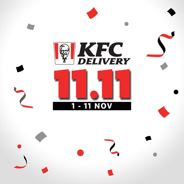 KFC Singapore 11.11 Delivery Exclusive Deals Up to 97% Off Promotion ends 11 Nov 2019 | Why Not Deals