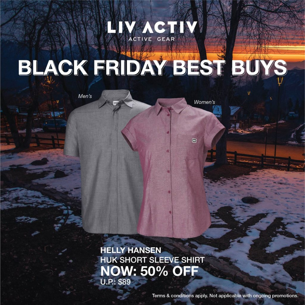 LIV ACTIV Singapore Black Friday Sale Up to 50% Off Promotion ends 5 Dec 2019 | Why Not Deals 1