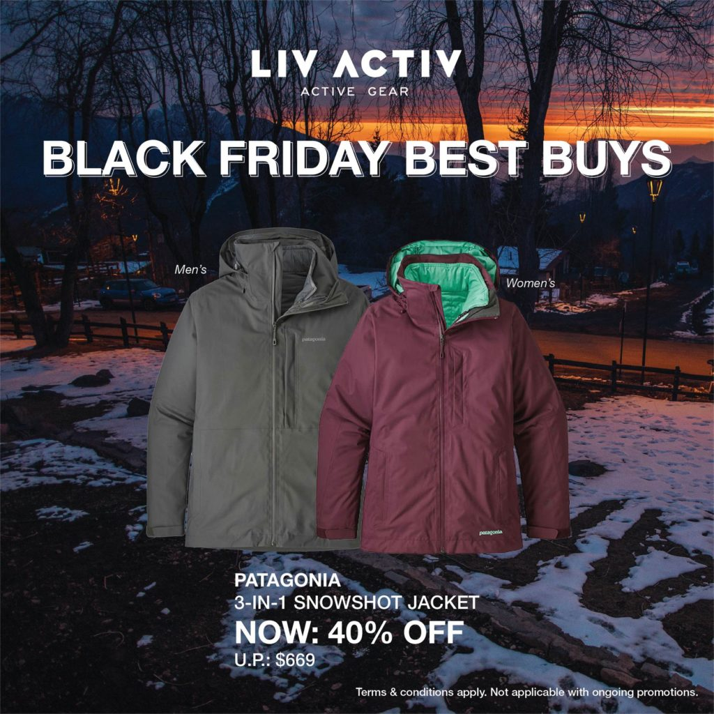 LIV ACTIV Singapore Black Friday Sale Up to 50% Off Promotion ends 5 Dec 2019 | Why Not Deals 2