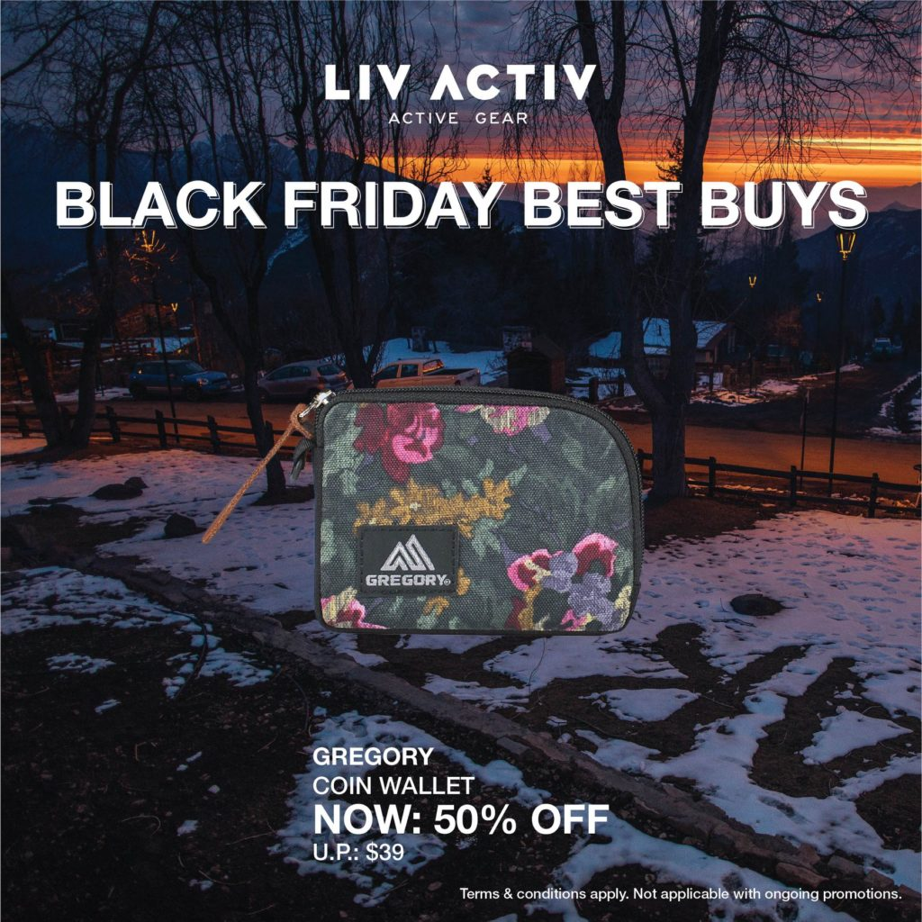LIV ACTIV Singapore Black Friday Sale Up to 50% Off Promotion ends 5 Dec 2019 | Why Not Deals 3