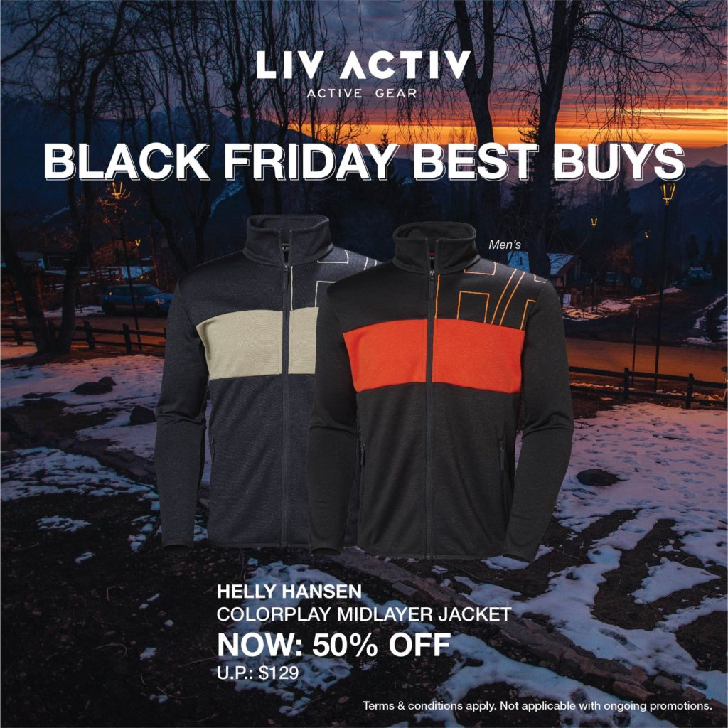 LIV ACTIV Singapore Black Friday Sale Up to 50% Off Promotion ends 5 Dec 2019 | Why Not Deals 5