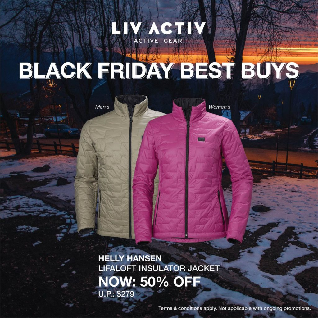 LIV ACTIV Singapore Black Friday Sale Up to 50% Off Promotion ends 5 Dec 2019 | Why Not Deals 7