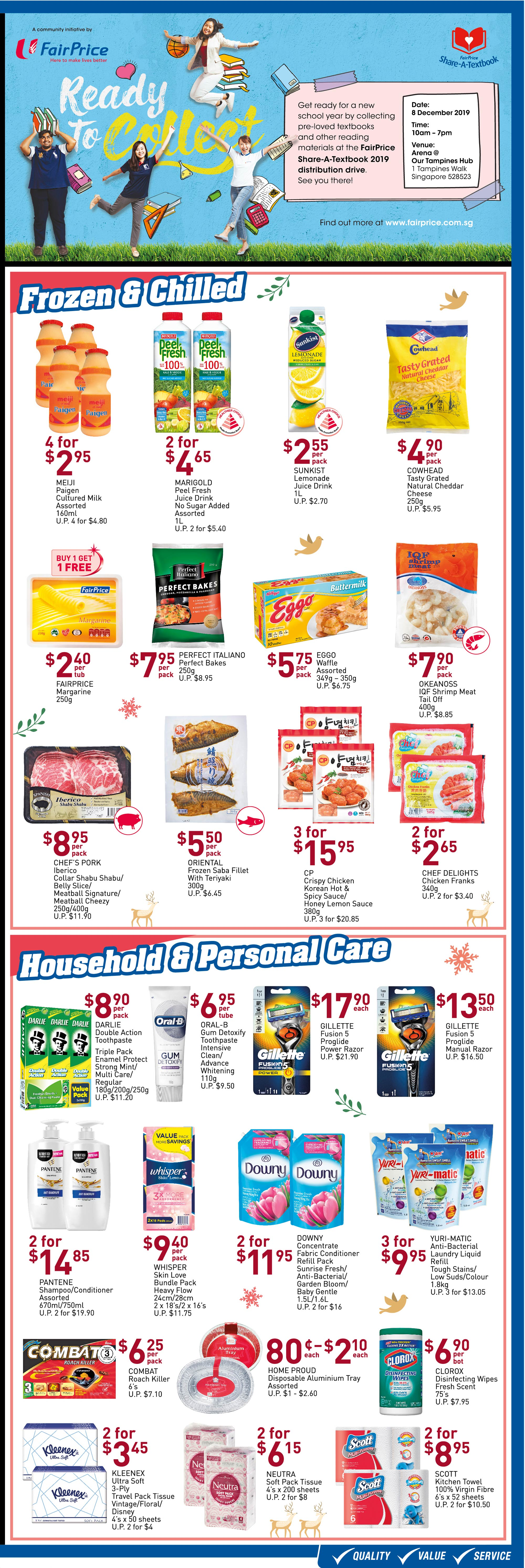 NTUC FairPrice Singapore Your Weekly Saver Promotions 28 Nov - 4 Dec 2019 | Why Not Deals 2 & Promotions