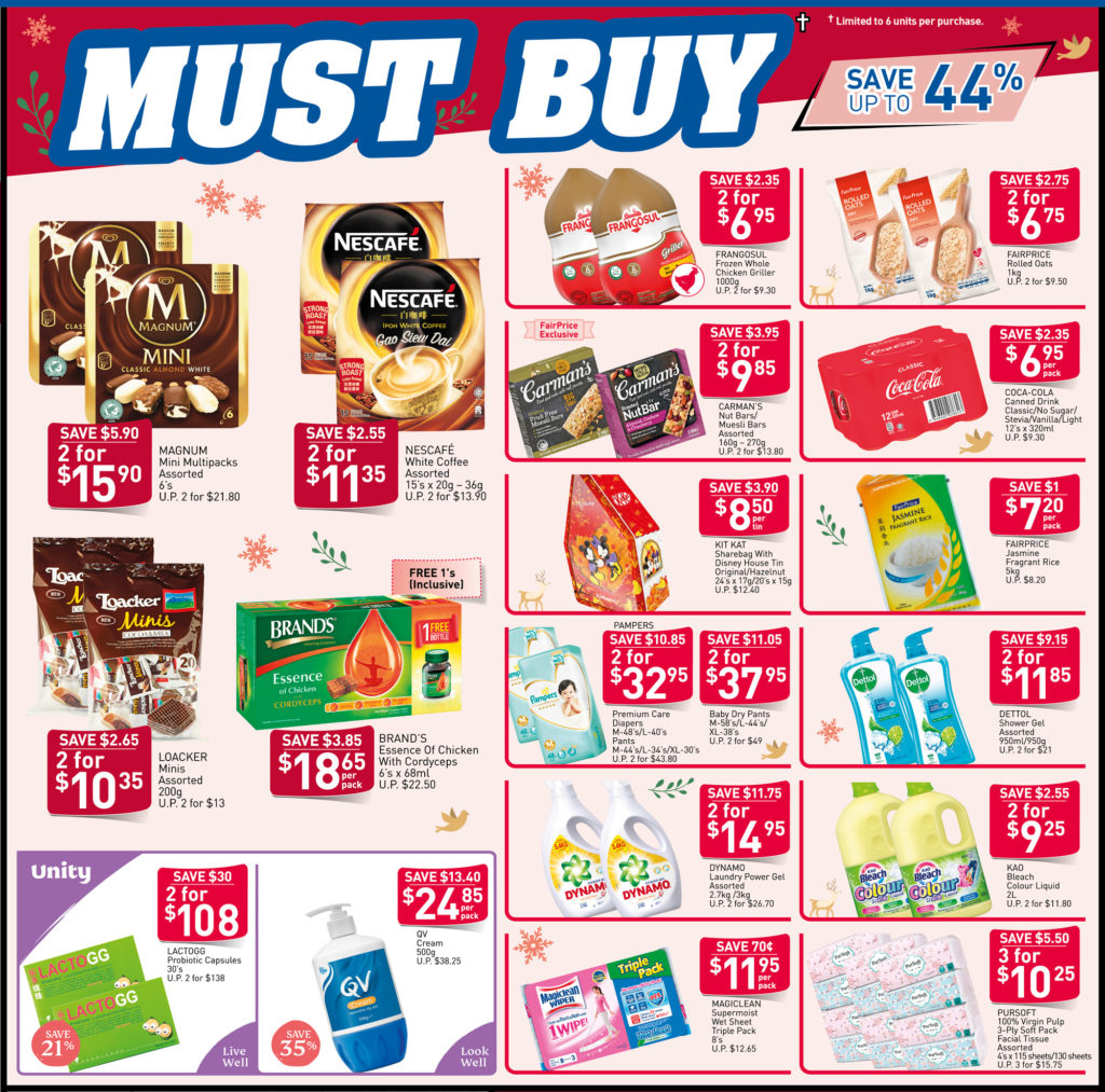 NTUC FairPrice Singapore Your Weekly Saver Promotions 28 Nov - 4 Dec 2019 | Why Not Deals 3