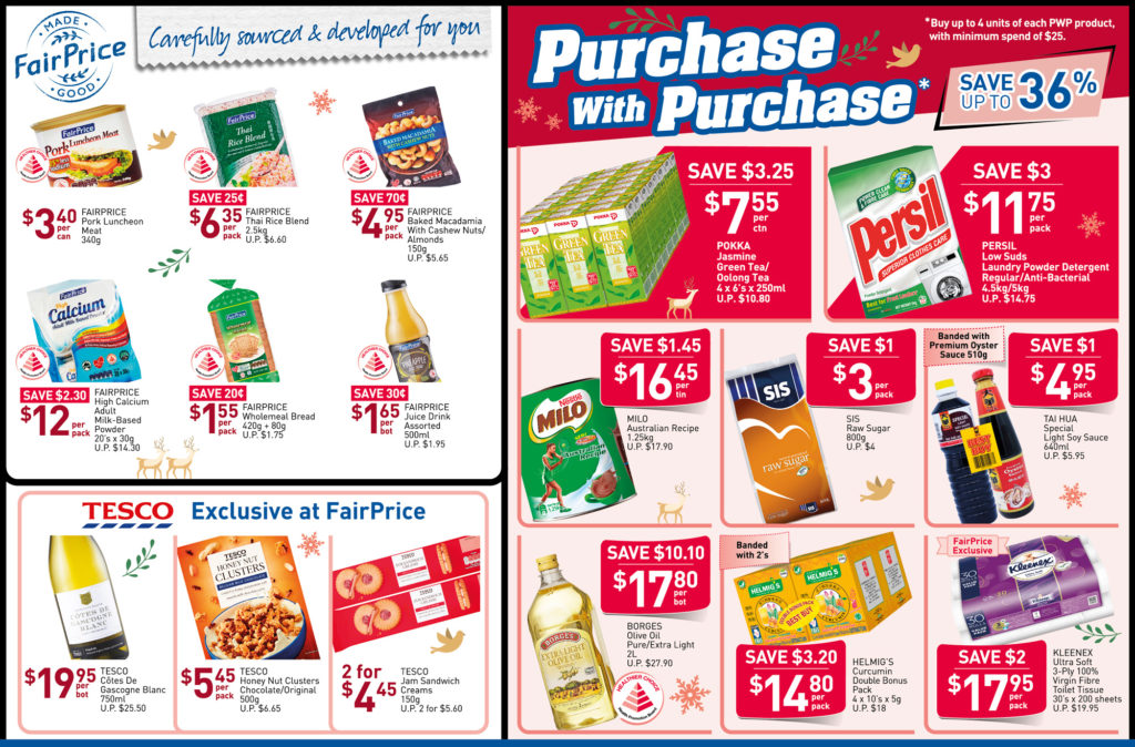 NTUC FairPrice Singapore Your Weekly Saver Promotions 28 Nov - 4 Dec 2019 | Why Not Deals 4
