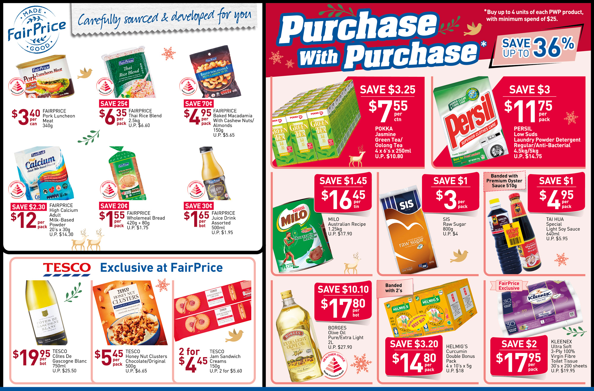 NTUC FairPrice Singapore Your Weekly Saver Promotions 28 Nov - 4 Dec 2019 | Why Not Deals 4 & Promotions