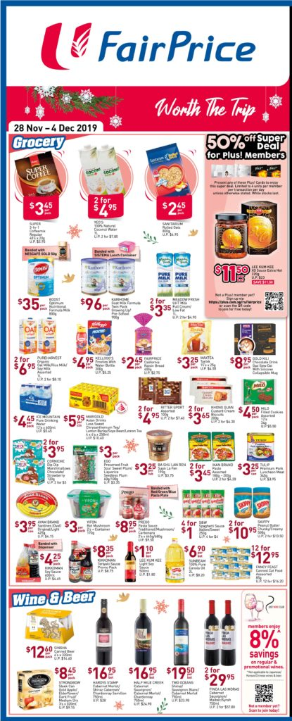 NTUC FairPrice Singapore Your Weekly Saver Promotions 28 Nov - 4 Dec 2019 | Why Not Deals 5