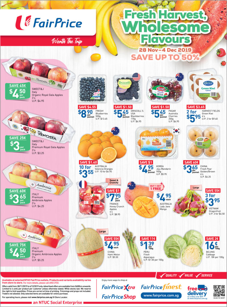 NTUC FairPrice Singapore Your Weekly Saver Promotions 28 Nov - 4 Dec 2019 | Why Not Deals 6