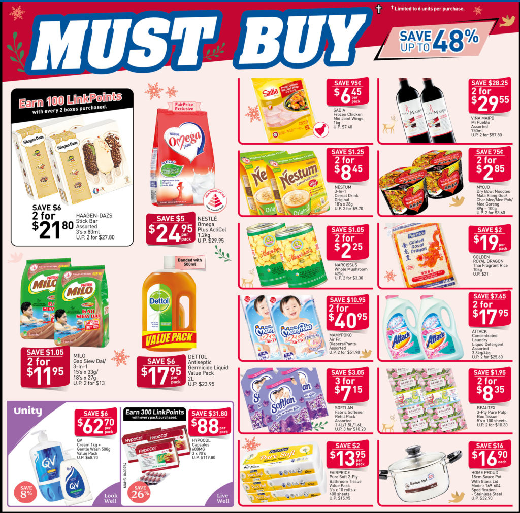 NTUC FairPrice Singapore Your Weekly Saver Promotions 7-13 Nov 2019   Why Not Deals 1