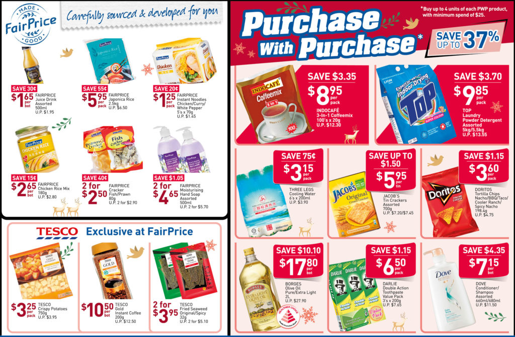NTUC FairPrice Singapore Your Weekly Saver Promotions 7-13 Nov 2019   Why Not Deals 2