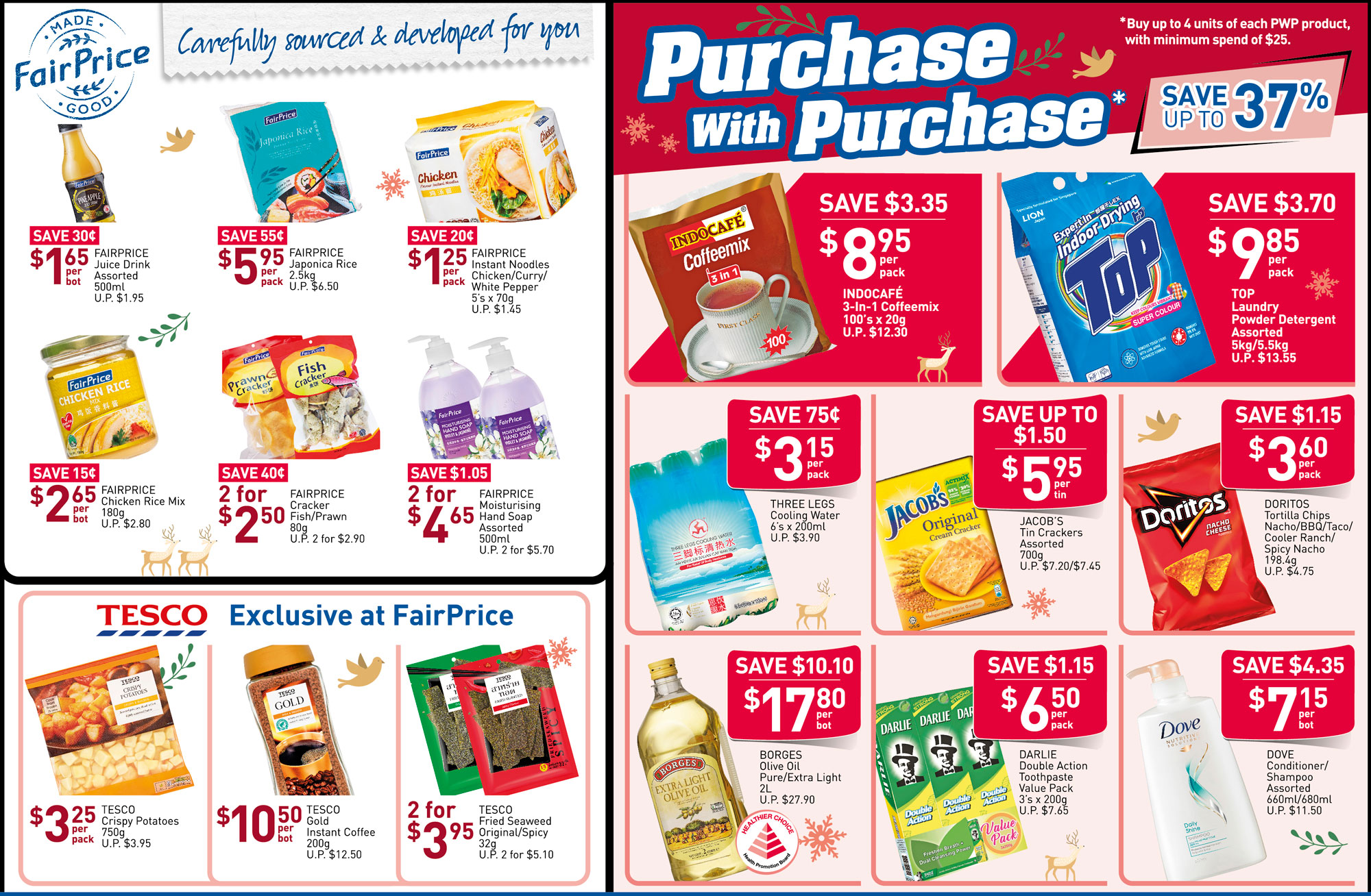 NTUC FairPrice Singapore Your Weekly Saver Promotions 7-13 Nov 2019   Why Not Deals 2 & Promotions