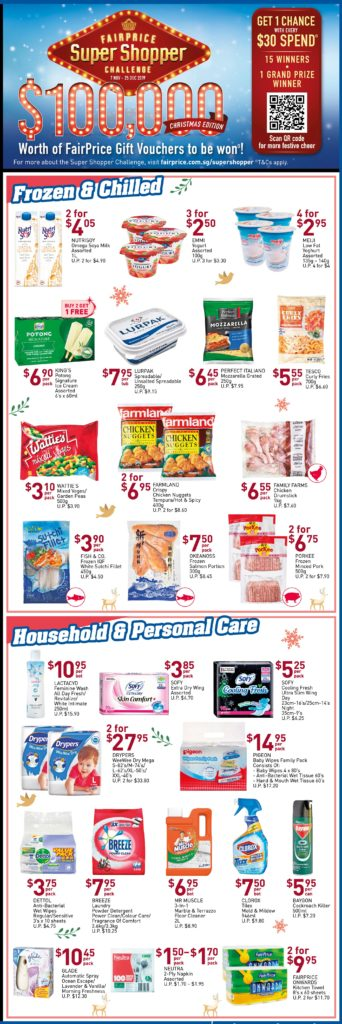 NTUC FairPrice Singapore Your Weekly Saver Promotions 7-13 Nov 2019   Why Not Deals 4