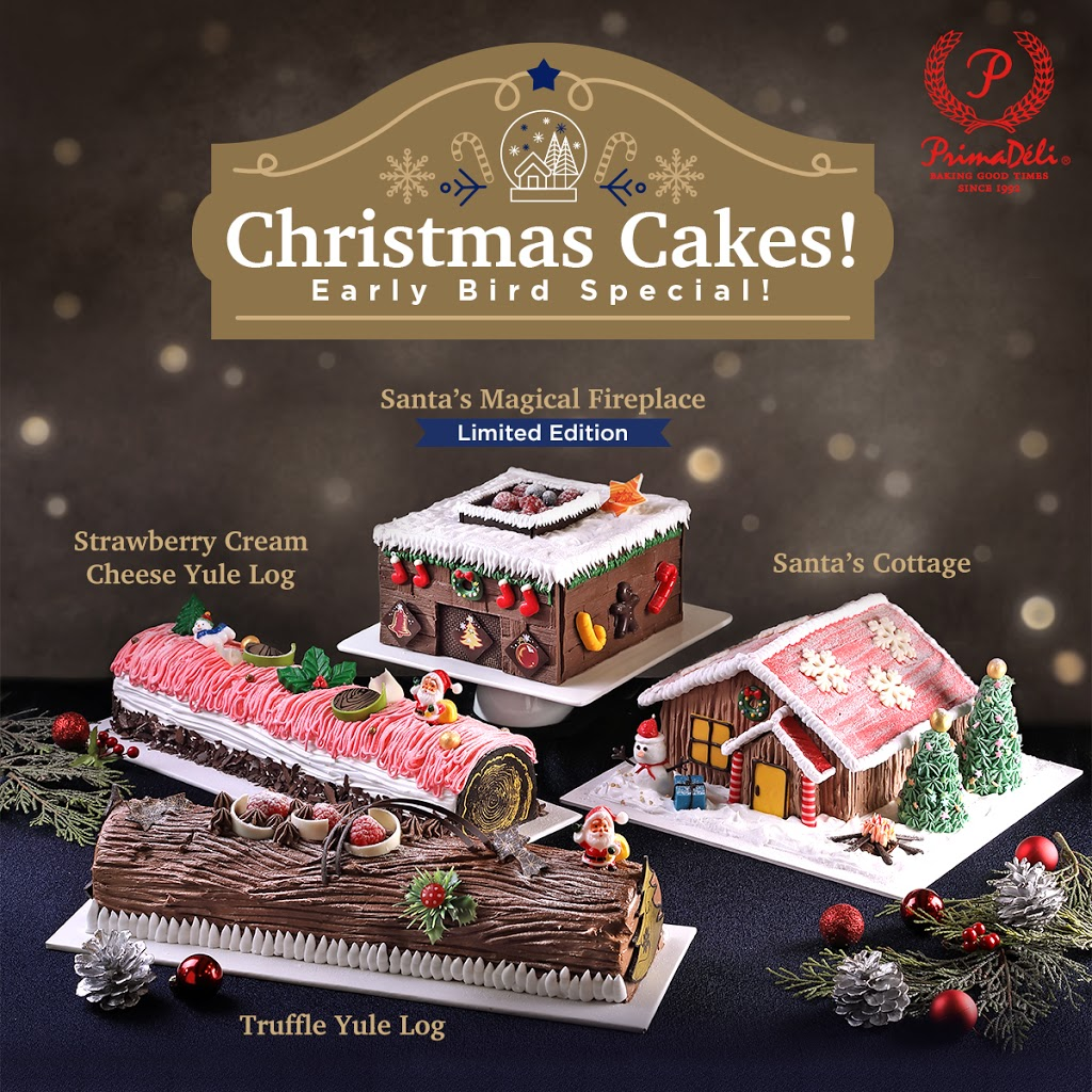PrimaDeli Singapore Christmas Cakes Up to 25% Off Promotion ends 15 Dec 2019 | Why Not Deals