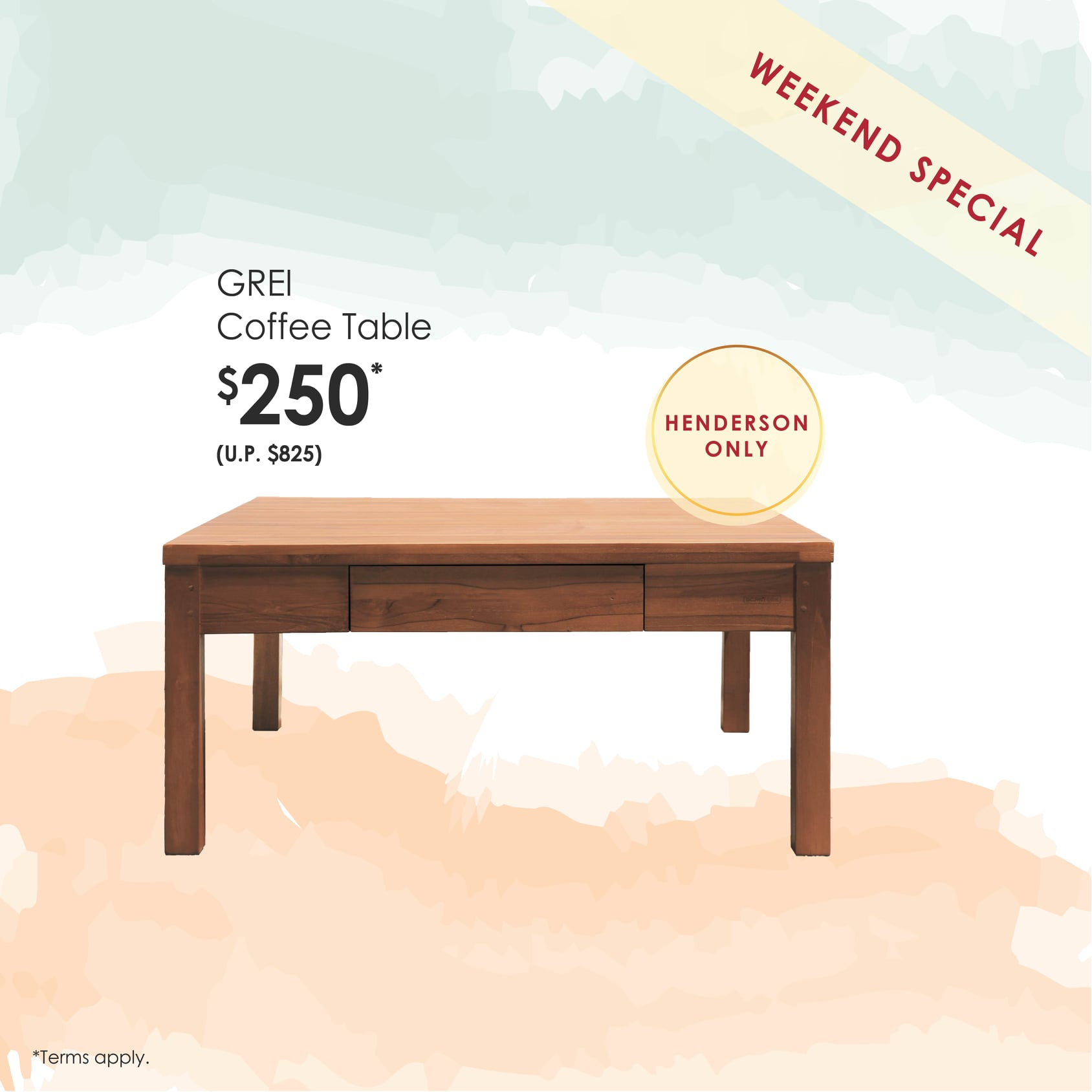 Scanteak Singapore is having a Clearance Sale Up to 60% Off Promotion 8-11 Nov 2019 | Why Not Deals 5 & Promotions