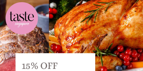Taste Singapore Christmas 15% Early Bird Promotion ends 12 Dec 2019 | Why Not Deals 1 & Promotions