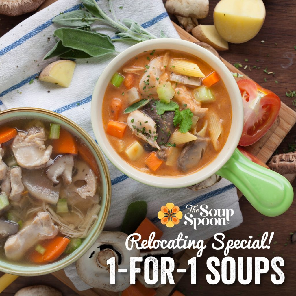 The Soup Spoon Singapore 3 Weeks of TGIF 1-for-1 Relocating Special Promotion 8-22 Nov 2019 | Why Not Deals