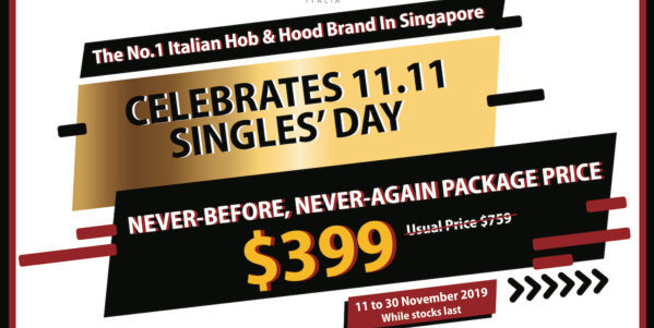 TURBO Singapore Singles' Day 11.11 First-Ever Nationwide Sales Promotion 11-30 Nov 2019 | Why Not Deals 1 & Promotions
