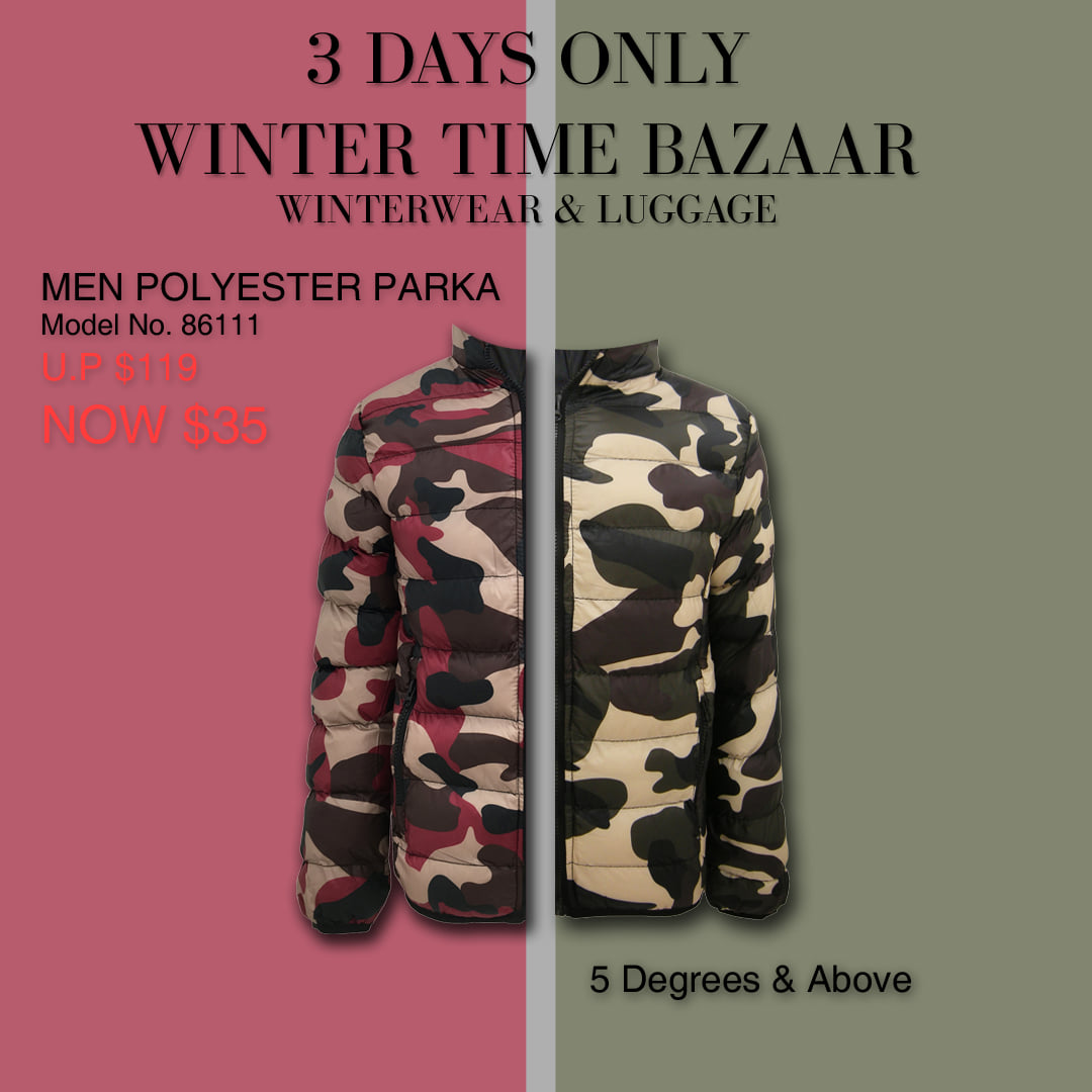 Winter Time Singapore Biggest Winterwear & Luggage Bazaar at Suntec Up to 80% Off Promotion 8-10 Nov 2019 | Why Not Deals 2 & Promotions