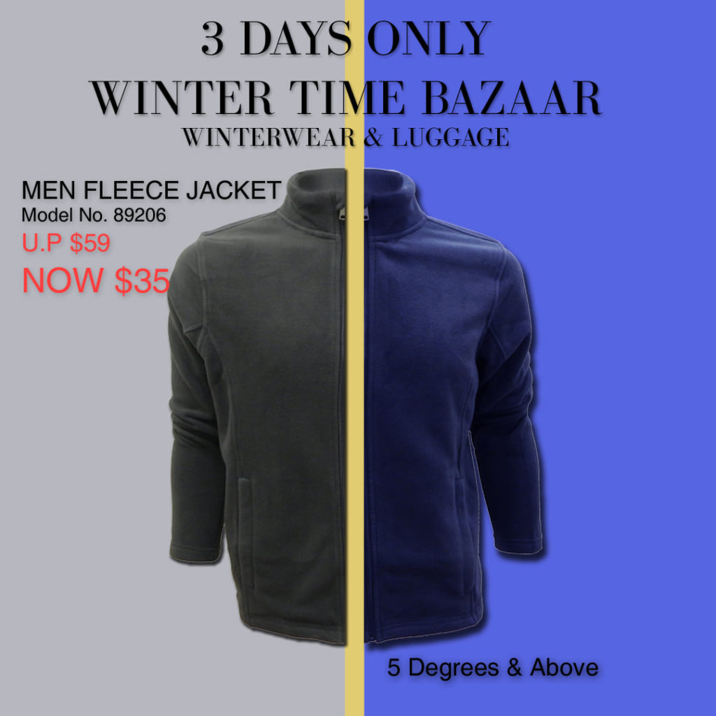 Winter Time Singapore Biggest Winterwear & Luggage Bazaar at Suntec Up to 80% Off Promotion 8-10 Nov 2019 | Why Not Deals 3