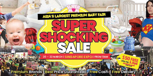 Asia's Largest Premium Baby Fair - SUPER SHOCKING SALE | Why Not Deals & Promotions