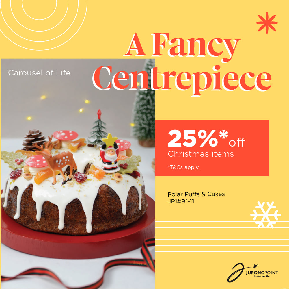 Jurong Point SG Christmas Seasonal Specials with 25% Off & 1-for-1 Promotions | Why Not Deals 1 & Promotions