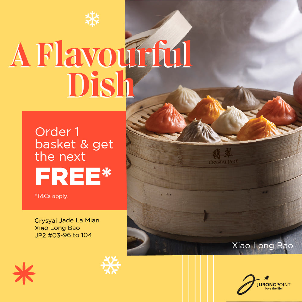 Jurong Point SG Christmas Seasonal Specials with 25% Off & 1-for-1 Promotions | Why Not Deals 3 & Promotions