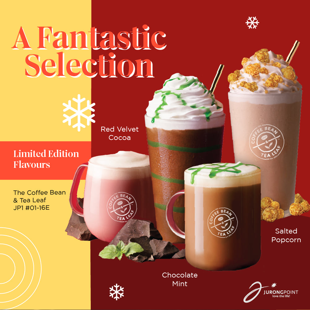 Jurong Point SG Christmas Seasonal Specials with 25% Off & 1-for-1 Promotions | Why Not Deals 5 & Promotions