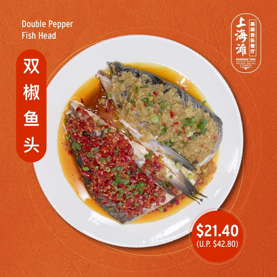 Shanghai Tang Exclusive Musical Restaurant 50% Off Any 1 Of Top 4 Dishes ends 23 Jan 2020 | Why Not Deals 1 & Promotions