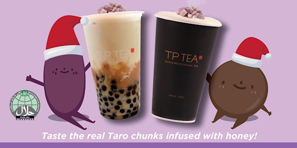 TP Tea SG Enjoy 2 Taro Premium Green Tea Latte for $6 While Stocks Last | Why Not Deals 1 & Promotions
