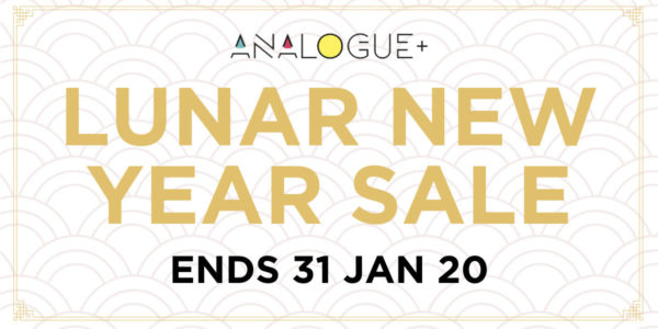Analogue+ Lunar New Year Sale | Why Not Deals 6 & Promotions