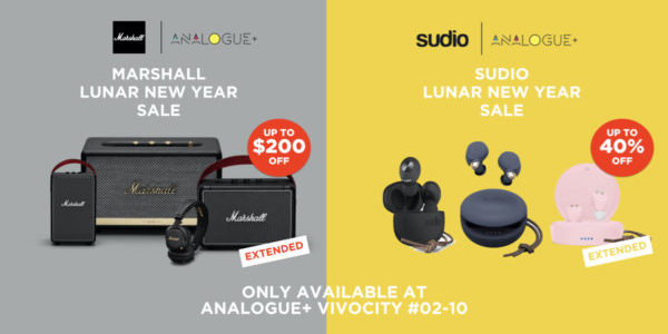 Up to 40% OFF on Marshall & Sudio | Why Not Deals 2 & Promotions