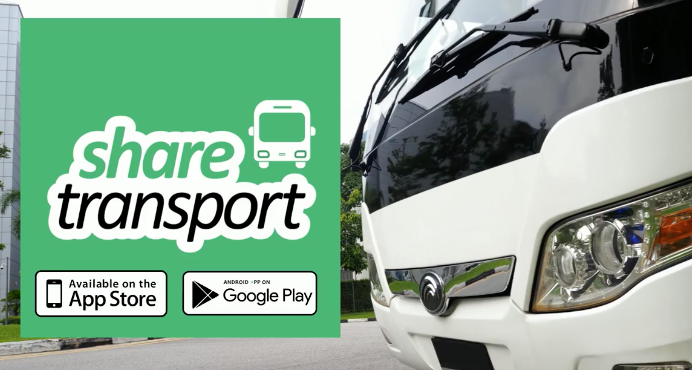 Get your free ticket away from an MRT OR Public Bus with ShareTransport | Why Not Deals & Promotions