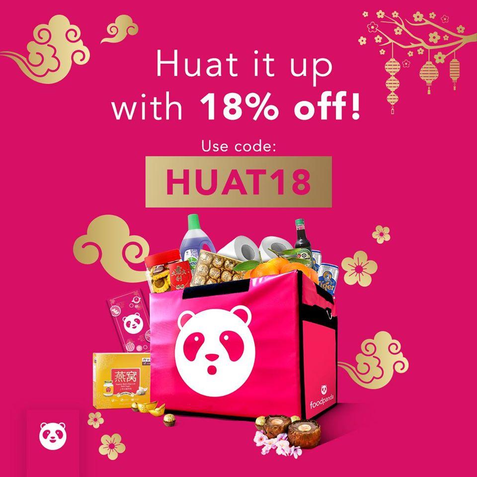 foodpanda SG 18% Off foodpanda & pandamart Promotion ends 31 Jan 2020 | Why Not Deals & Promotions
