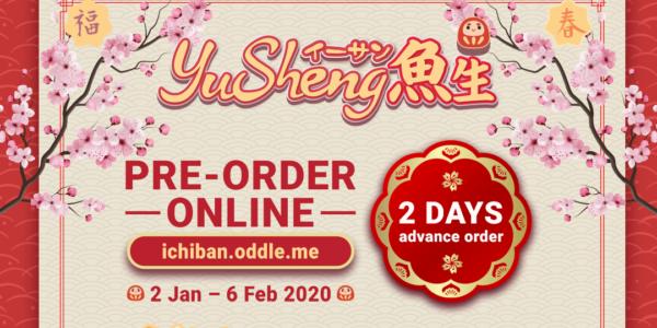 Ichiban Sushi YuSheng ($5 dining voucher) - now till 6 Feb 2020 | Why Not Deals & Promotions