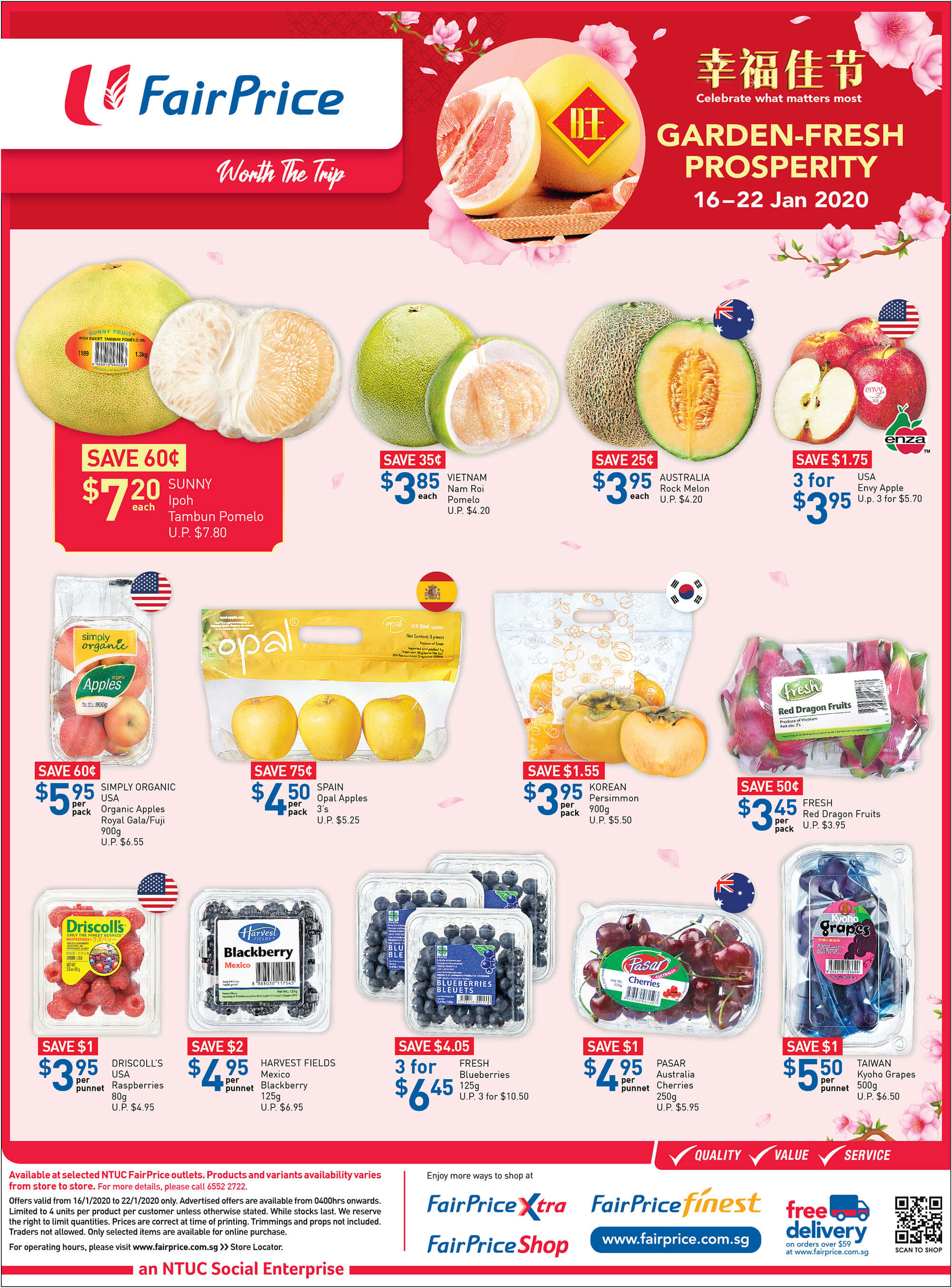 NTUC FairPrice SG Your Weekly Saver Promotion 16-22 Jan 2020 | Why Not Deals 3 & Promotions
