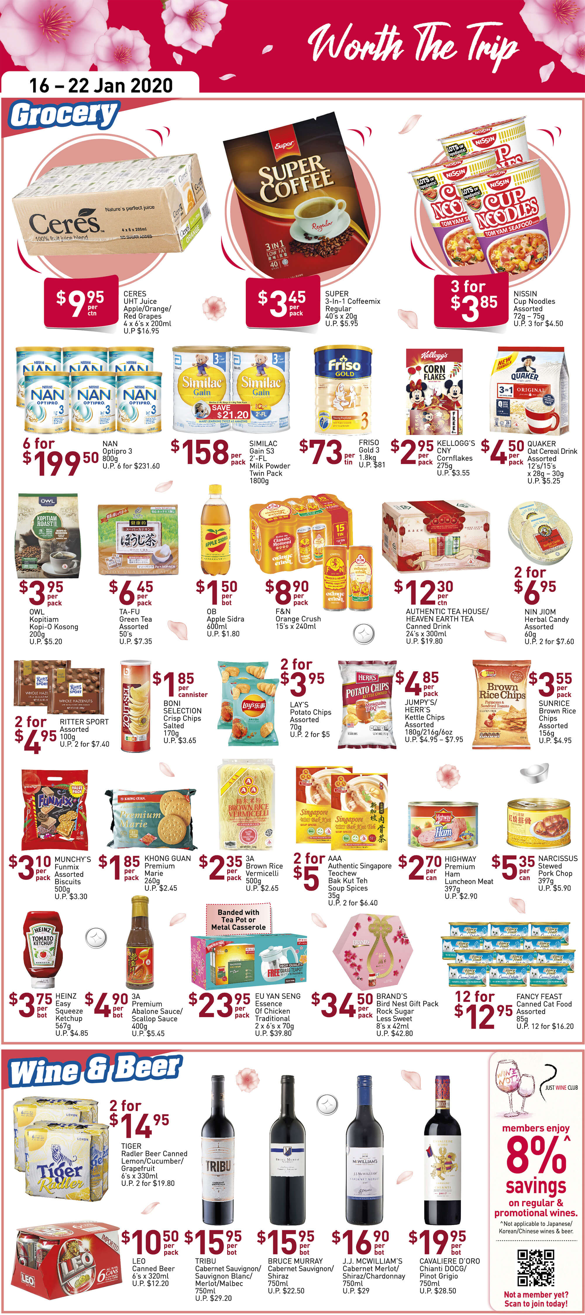 NTUC FairPrice SG Your Weekly Saver Promotion 16-22 Jan 2020 | Why Not Deals 6 & Promotions