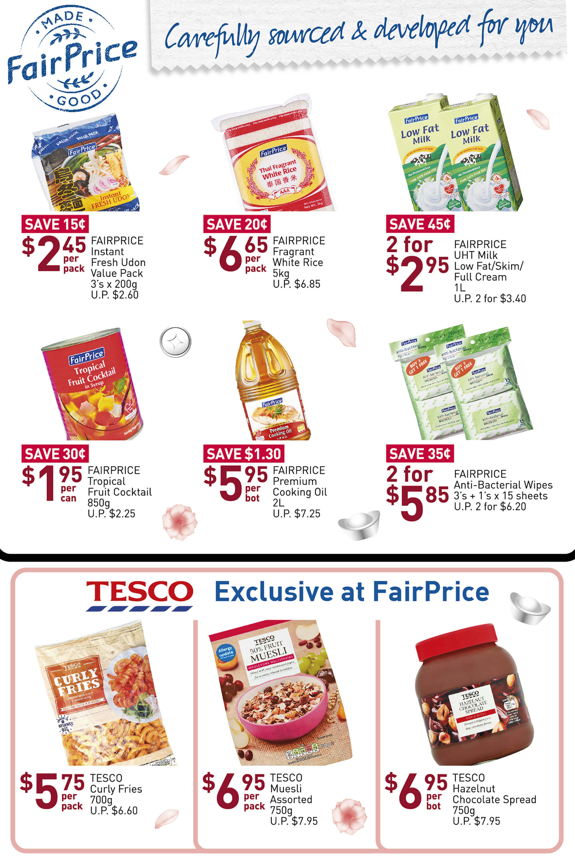 NTUC FairPrice SG Your Weekly Saver Promotion 16-22 Jan 2020 | Why Not Deals 8 & Promotions
