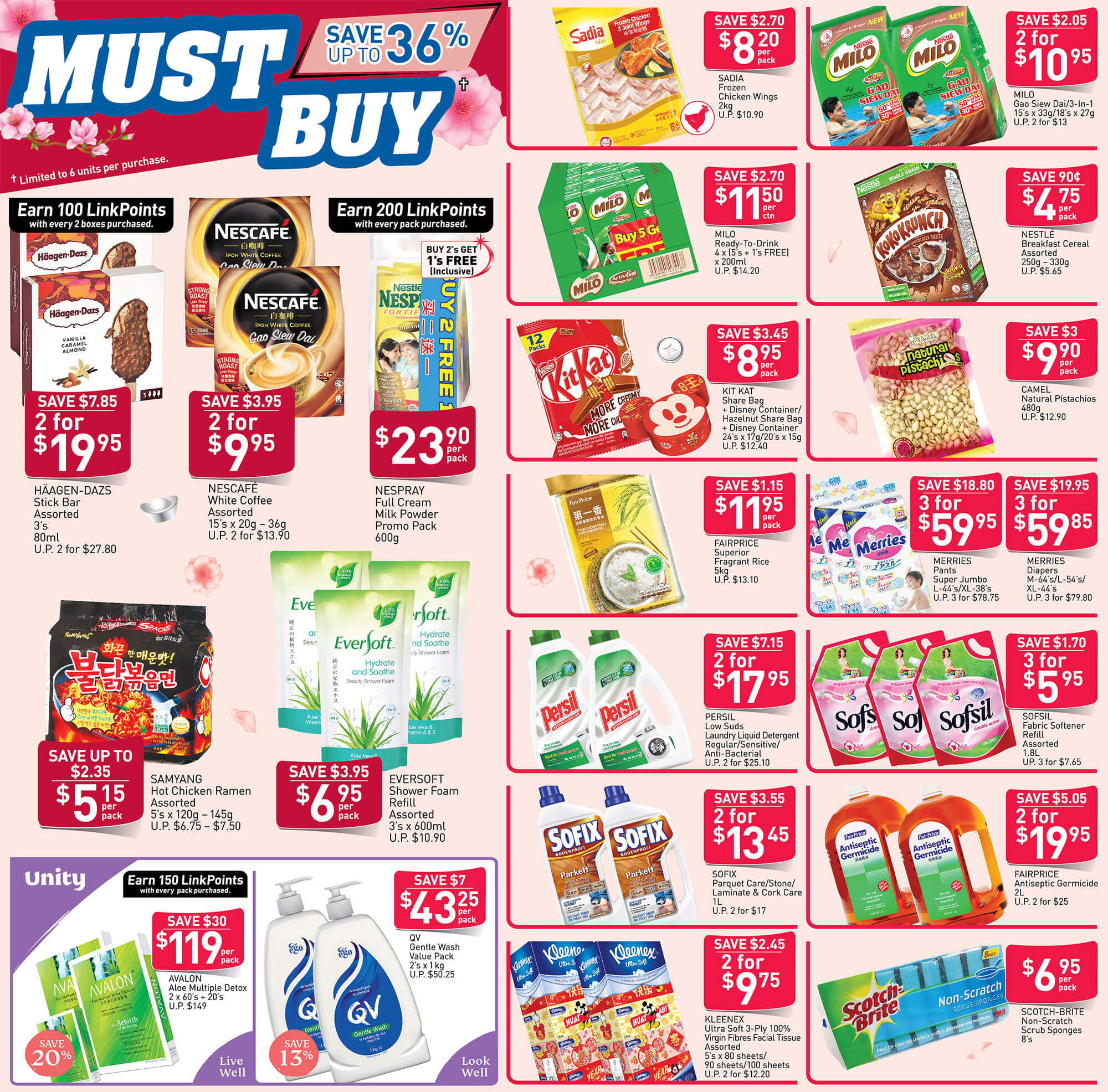 NTUC FairPrice SG Your Weekly Saver Promotions 9-15 Jan 2020 | Why Not Deals 9 & Promotions