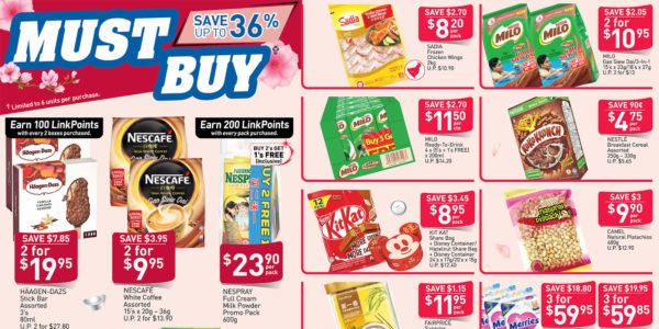 NTUC FairPrice SG Your Weekly Saver Promotions 9-15 Jan 2020 | Why Not Deals 11 & Promotions