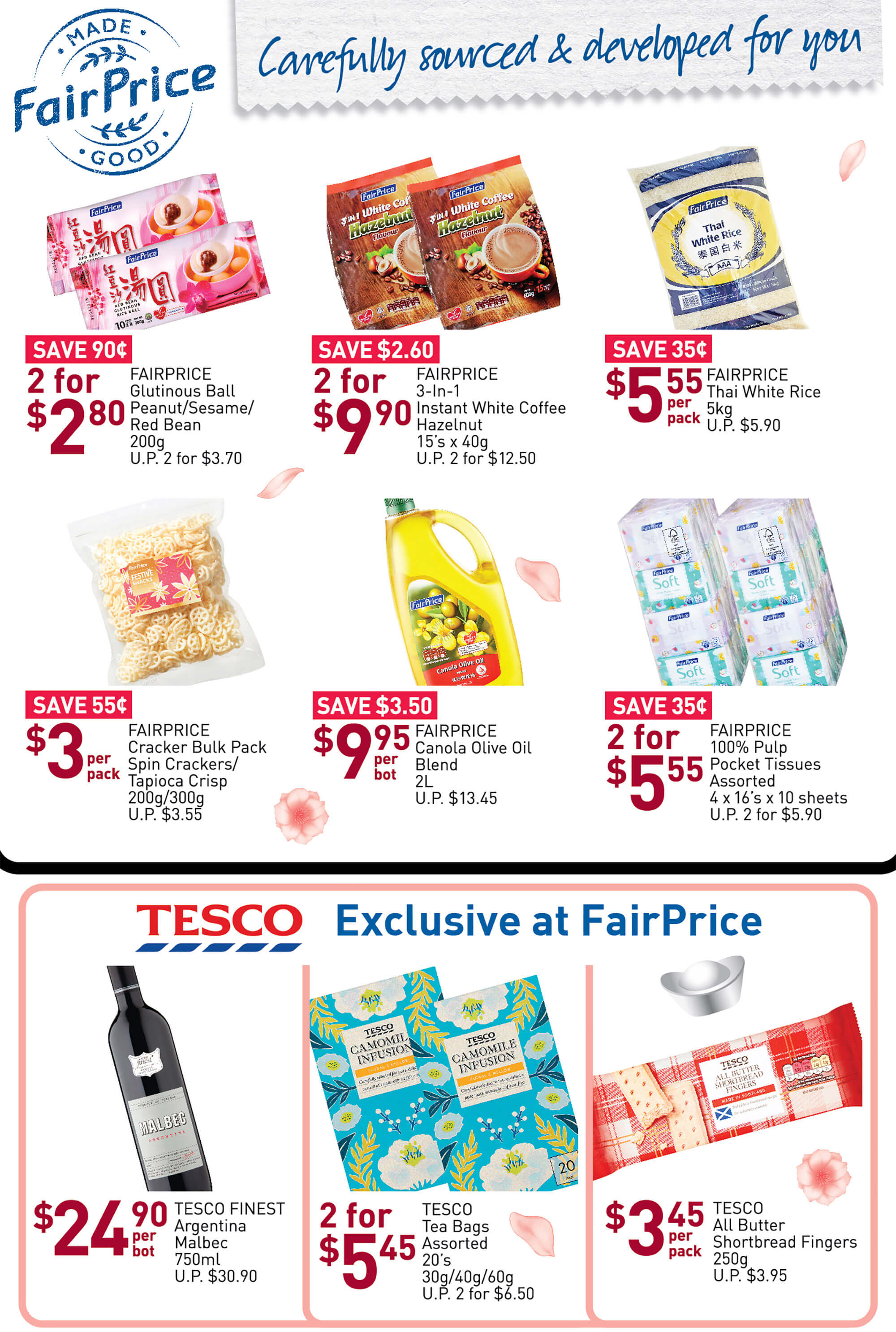 NTUC FairPrice SG Your Weekly Saver Promotions 9-15 Jan 2020 | Why Not Deals 7 & Promotions