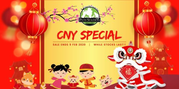 Pets' Station SG CNY Special Up to 75% Off | Why Not Deals 1 & Promotions