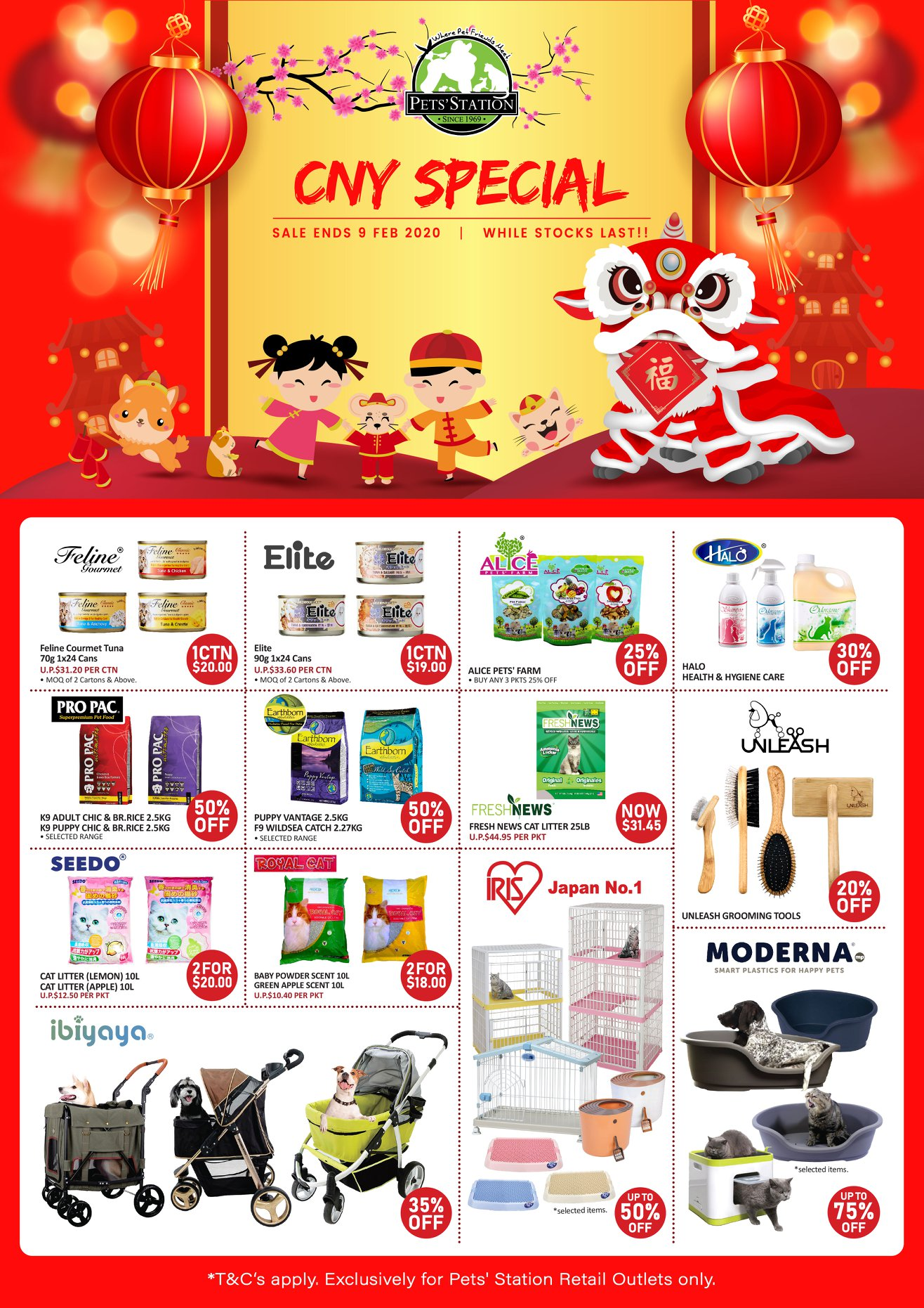 Pets' Station SG CNY Special Up to 75% Off | Why Not Deals & Promotions