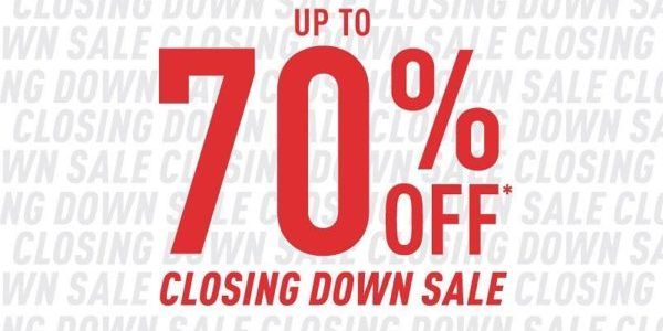 Royal Sporting House SG Bukit Panjang Store Moving Out Sale Up to 70% Off ends 18 Feb 2020   Why Not Deals 1 & Promotions