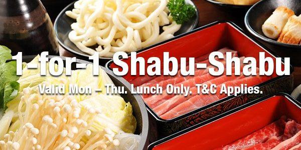 SUKI-YA SG 1-for-1 Shabu Shabu Promotion ends 31 Mar 2020 | Why Not Deals 1 & Promotions