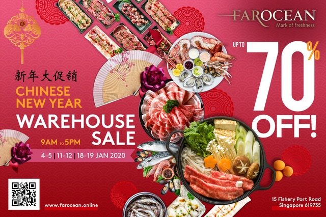 Up to 70% Off at Far Ocean Seafood CNY Warehouse Sale!   Why Not Deals 2 & Promotions