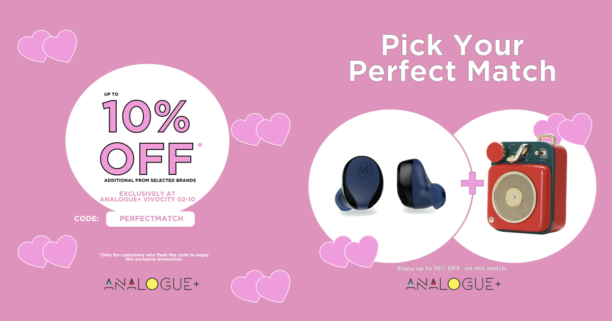 Up to 10% OFF this February with Analogue+ | Why Not Deals 5 & Promotions