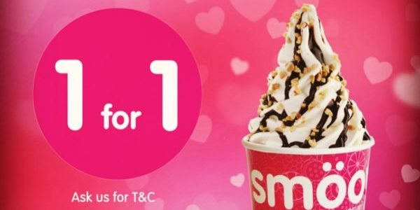 Smöoy Singapore 1-for-1 Promotion 13-15 Feb 2020 | Why Not Deals 1 & Promotions