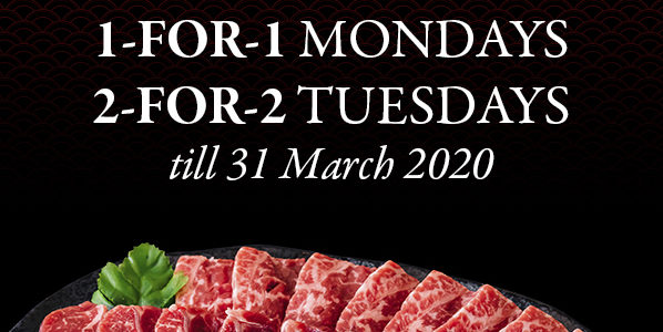 1-FOR-1 PREMIUM WAGYU BUFFET | Why Not Deals & Promotions
