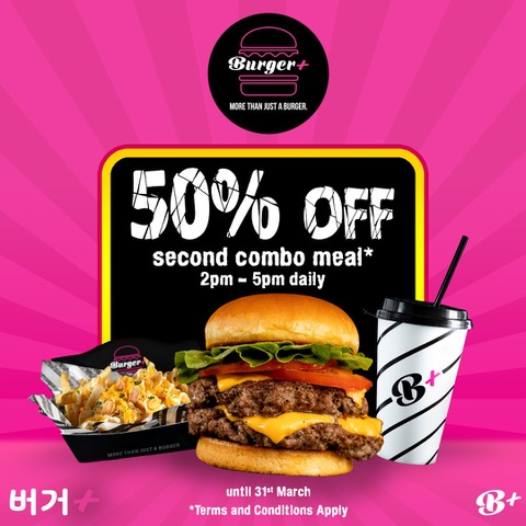 50% off Second Combo Meals & $5 Signature Tap Beers for Merrier March Holidays   Why Not Deals & Promotions